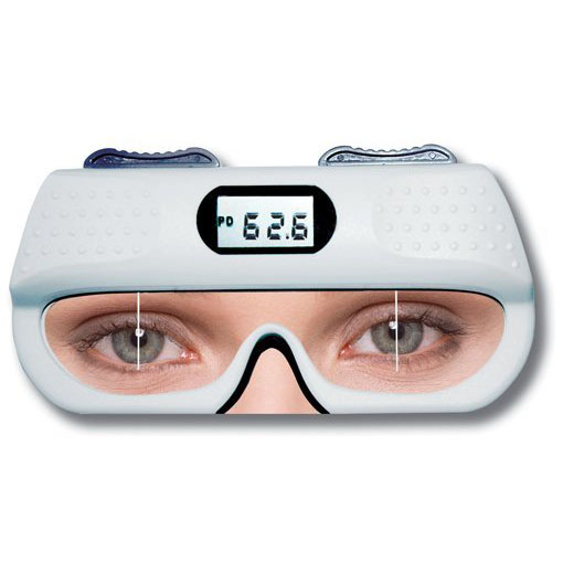 TRL 01 Digital pd Ruler pd ruler pupil distance ruler optometry ruler ophthalmic ruler lowest shipping